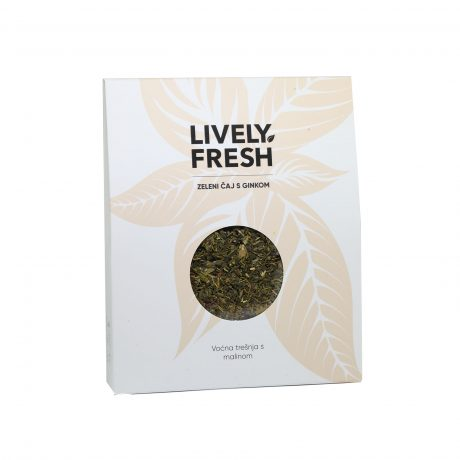 Zeleni čaj s ginkom